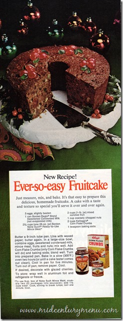 Ever-so-easy Fruitcake001 Ladies Home Journal Nov 1972