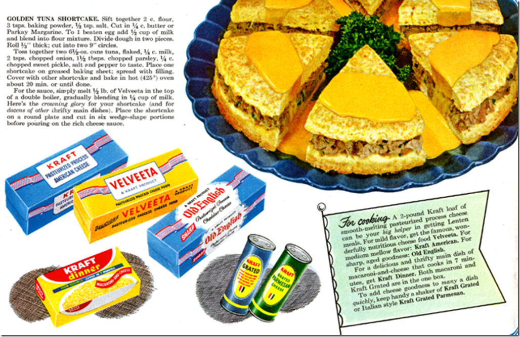 Golden Tuna Shortcake