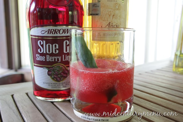 Sloe Tequila, 1971 – Vintage Cocktail Friday