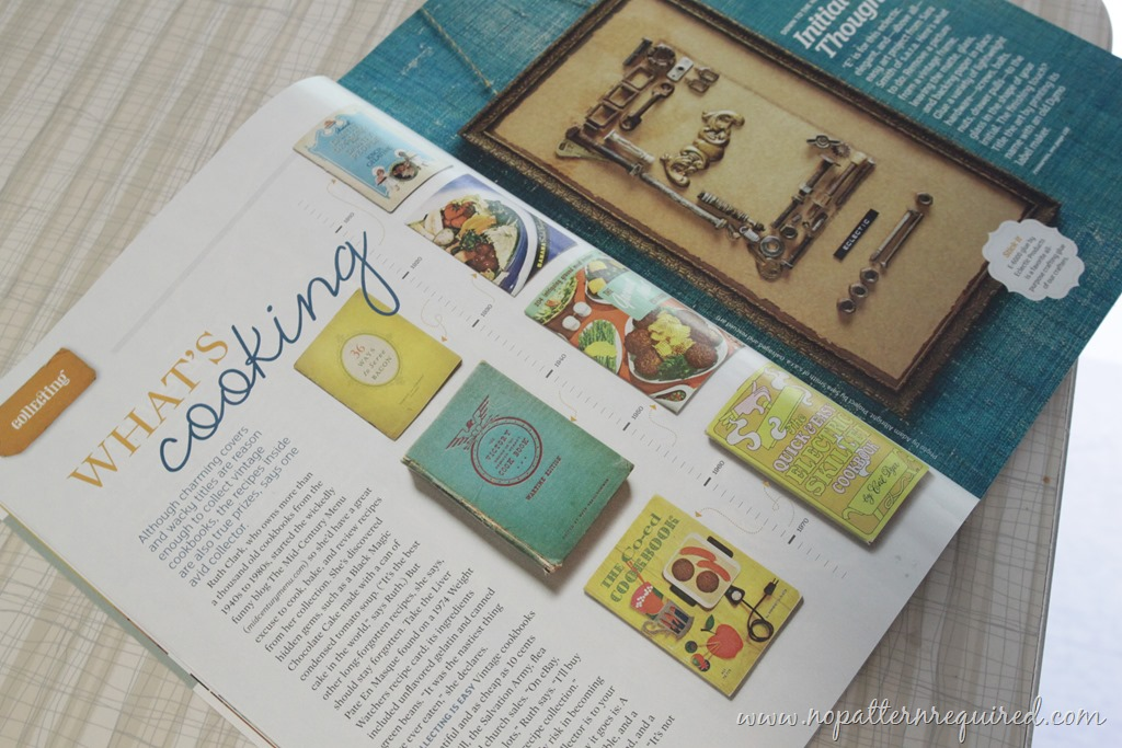 I'm In The Current Flea Market Style Magazine!