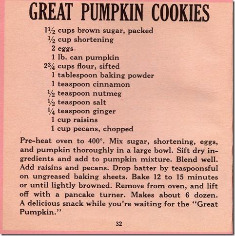GreatPumpkinCookies