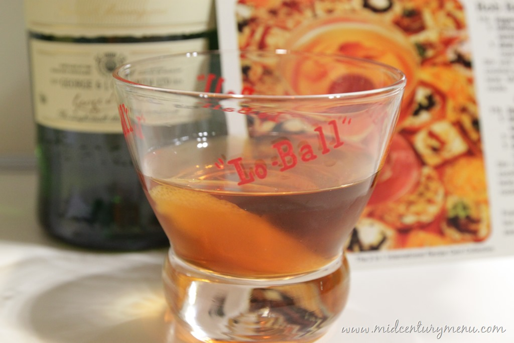 Rob Roy, 1977 – Vintage Cocktail Friday
