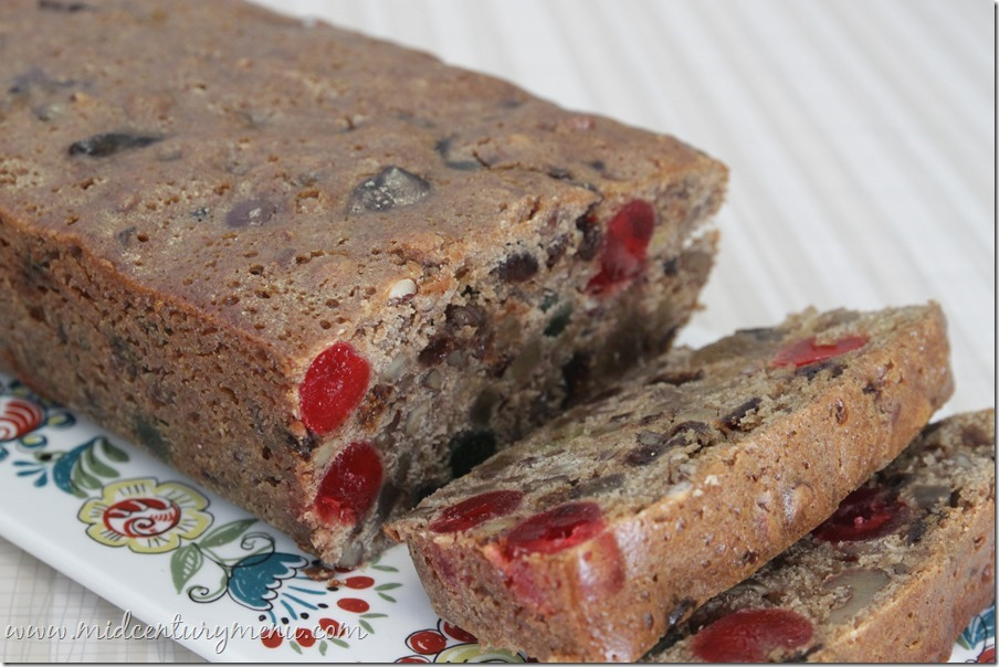 Wesson's Famous Fruit Cake – A Mid-Century Christmas Recipe Re-Run