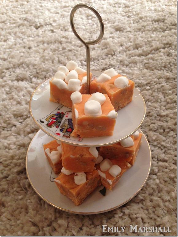 creamsicle marshmallow fudge