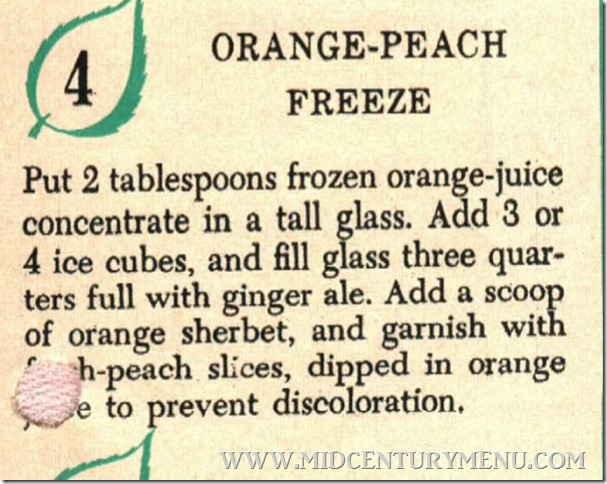 Orange Peach Freeze