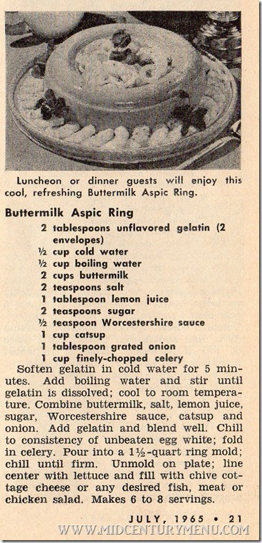 Workbasket July 1965 Buttermilk Aspic Ring001