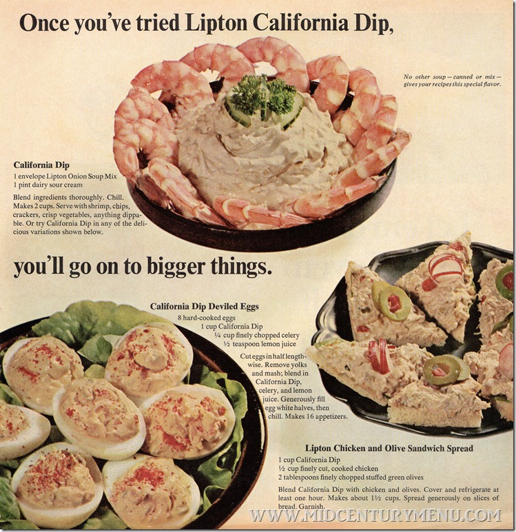Lipton California Dip Deviled Eggs001