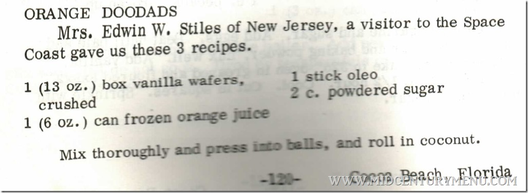 Orange Doodads Out of This World Recipes 1978 (2)
