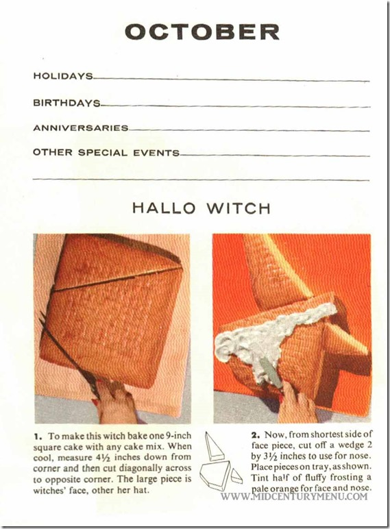 Hallo Witch - Cut Up Cakes
