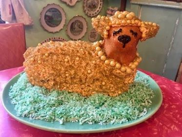 Reader's Easter Lamb Cake Gallery for 2018 – With Giveaway Winners!