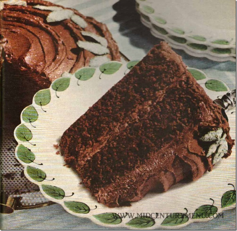 Starlight Double Delight Cake - Pillsbury Bake-Off 1951