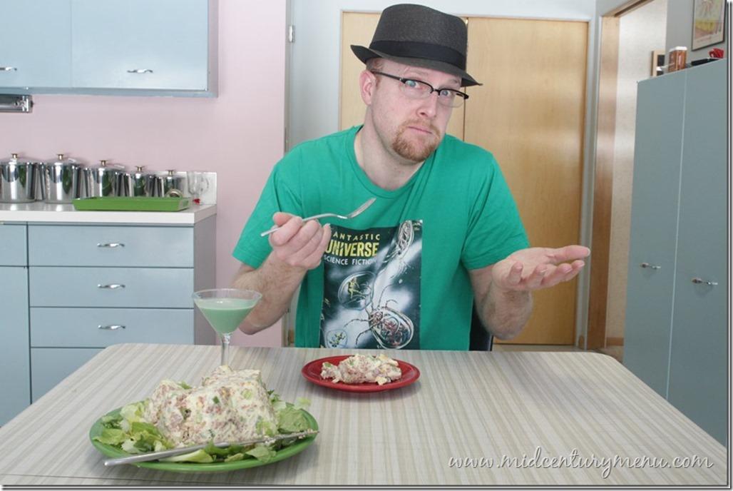 Hearty Corned Beef Salad