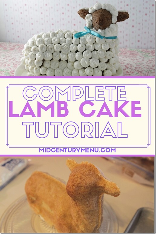 Lamb Cake Tutorial 2