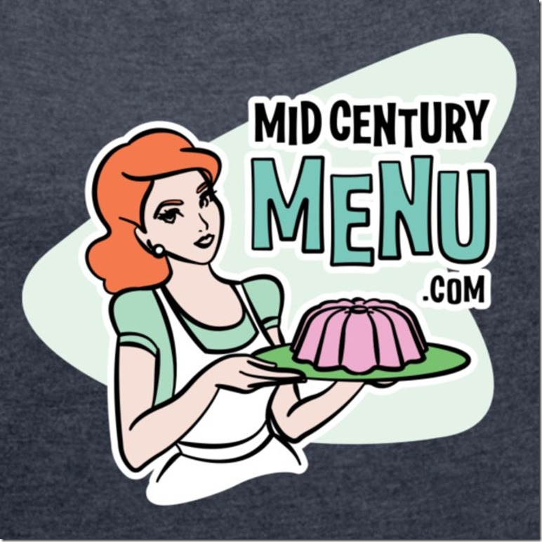ruth-is-busy-showing-off-her-gelatin-in-this-logo-for-mid-centurymenucom-support-retro-cooking-and-vintage-recipe-revival-in-style-with-this-groovy