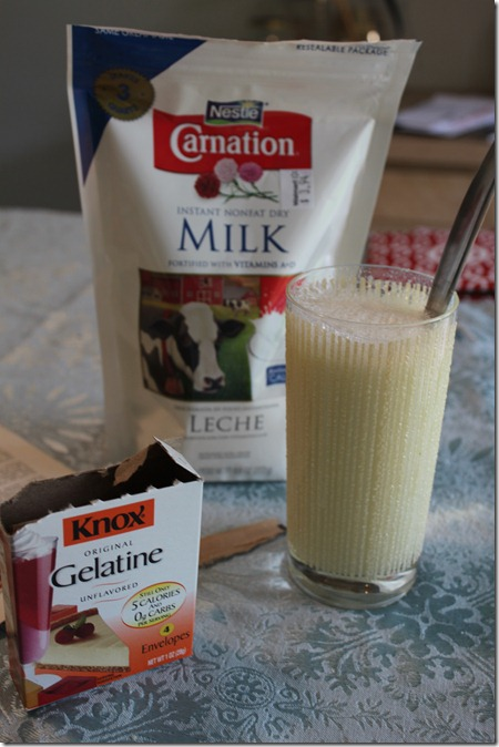 Knox Protein Drink: Mid-Century Recipe Test