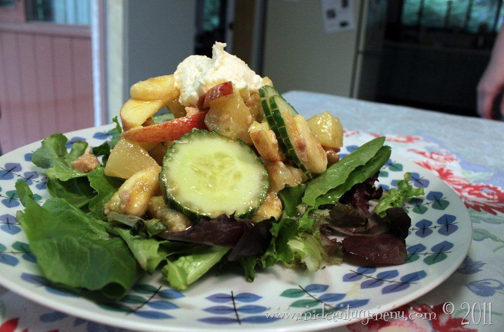 Tuna Fruit Salad–Tuna Vintage Recipe Contest Finalist #1