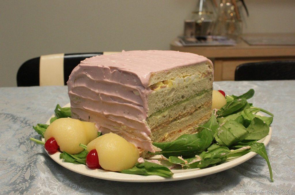 The Yule Sandwich Log–A Mid-Century Recipe Test