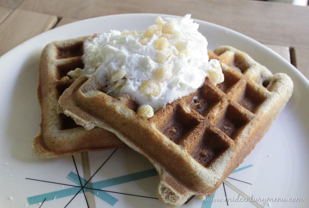 Spicy Party Waffles, 1963 – A Vintage Recipe Test Re-Run