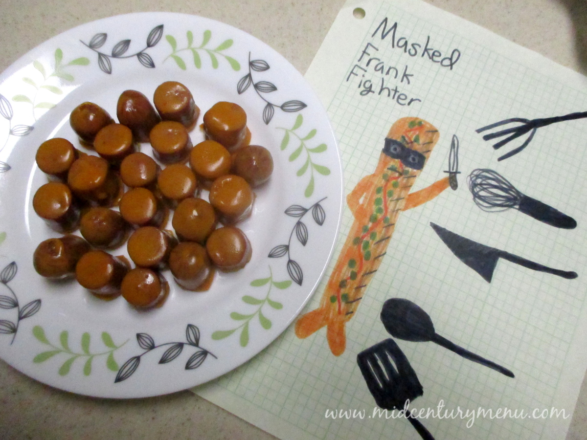 Masked Hot Dogs – Mid-Century Recipe Guest Test Sunday