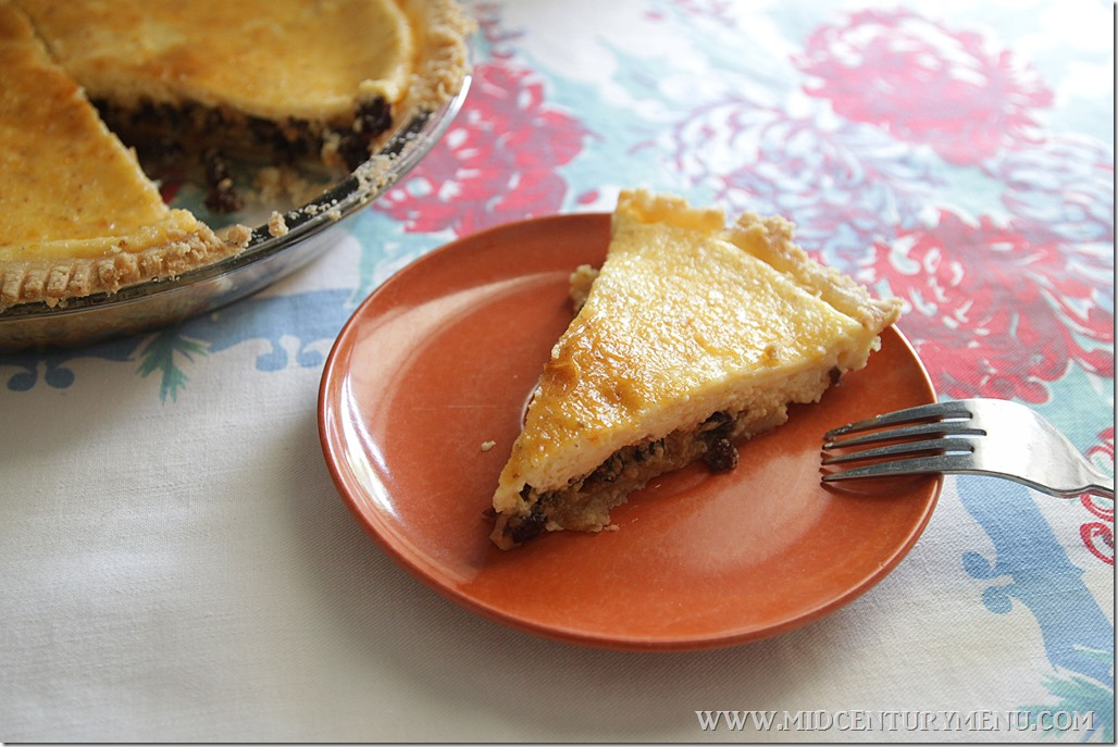 Cheese Pie, 1930 – Second Annual Pieathalon Challenge!