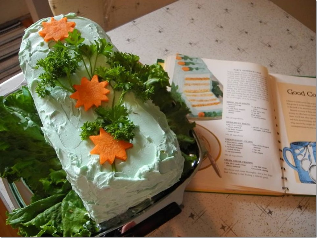 Party Sandwich Loaf Made By Reader Genevieve!