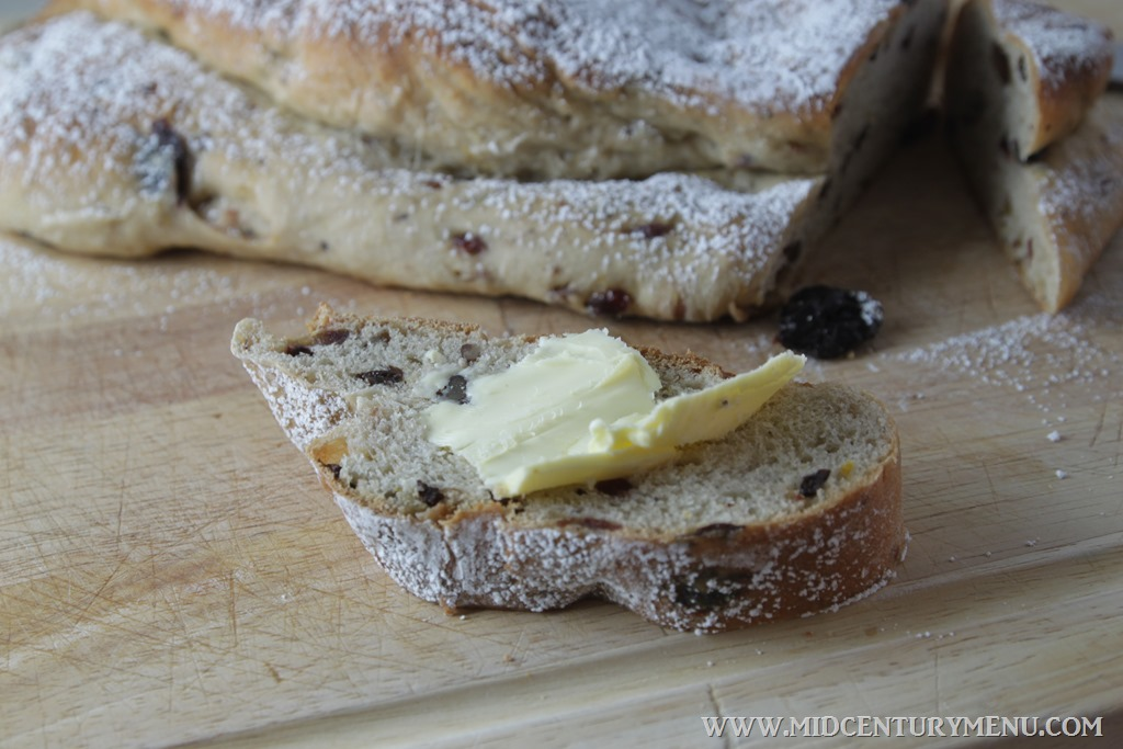 Stollen, 1959  – A Vintage Holiday Recipe Re-Run