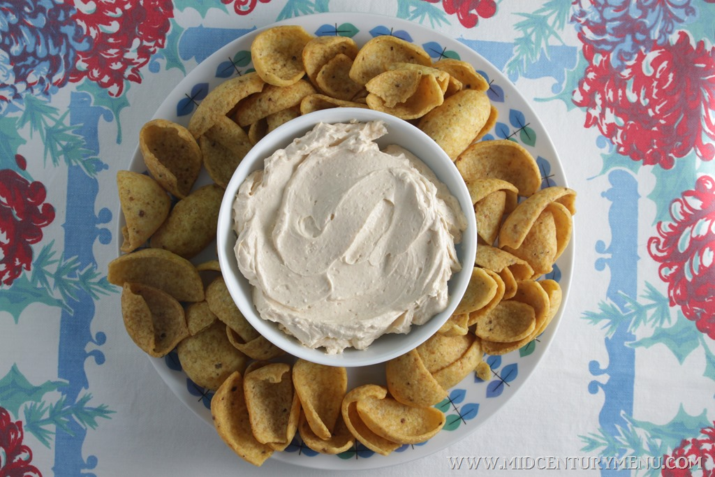 Philly Hostess Dip, 1950 – Vintage Recipe Test Plus 5 Vintage Recipes For Your Super Bowl Party