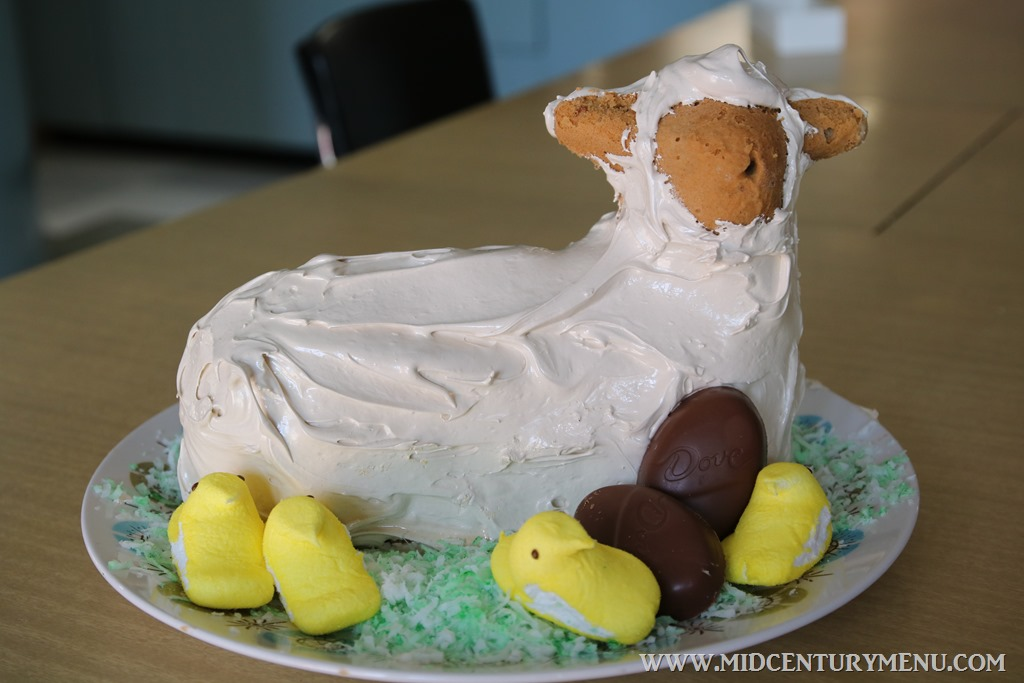 Man's Cake Lamb Cake – A Vintage Easter Recipe Test