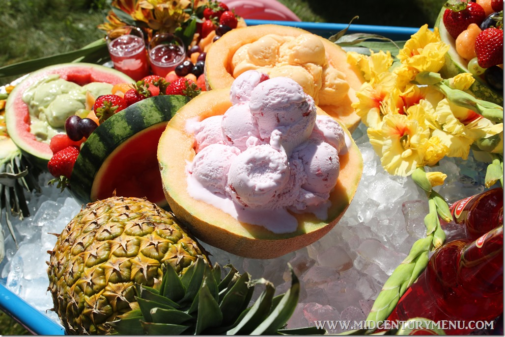 The Luau Wheelbarrow Ice Bar – A Mid-Century Party Test