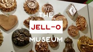Quick Video Tour of The Jell-O Museum And Gallery in LeRoy, New York