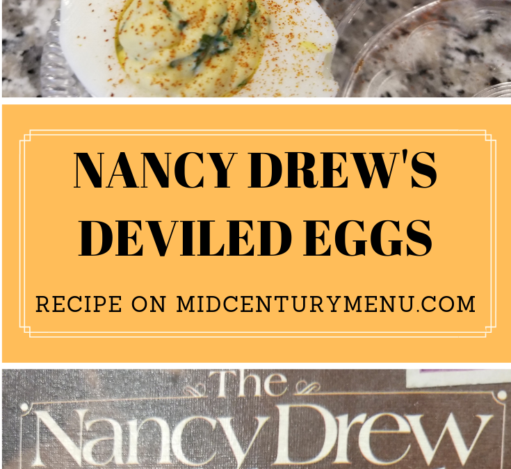 Nancy Drew Savory Deviled Eggs And Double Deviled Eggs